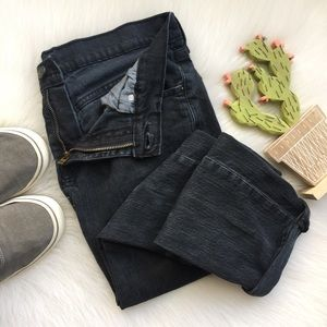 Levi's 511 Skinny Jeans Black Denim Pants 30x30